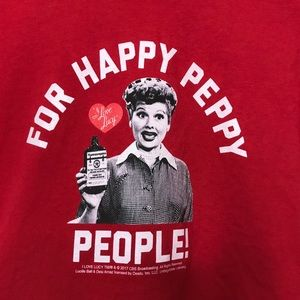 I Love Lucy Vitameatavegamin Graphic T-Shirt Large